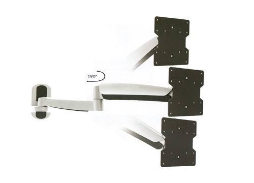 lcd wandhalterung ausziehbar neigbar und schwenkbar vesa 300 400 h henverstellbar wandhalterung. Black Bedroom Furniture Sets. Home Design Ideas