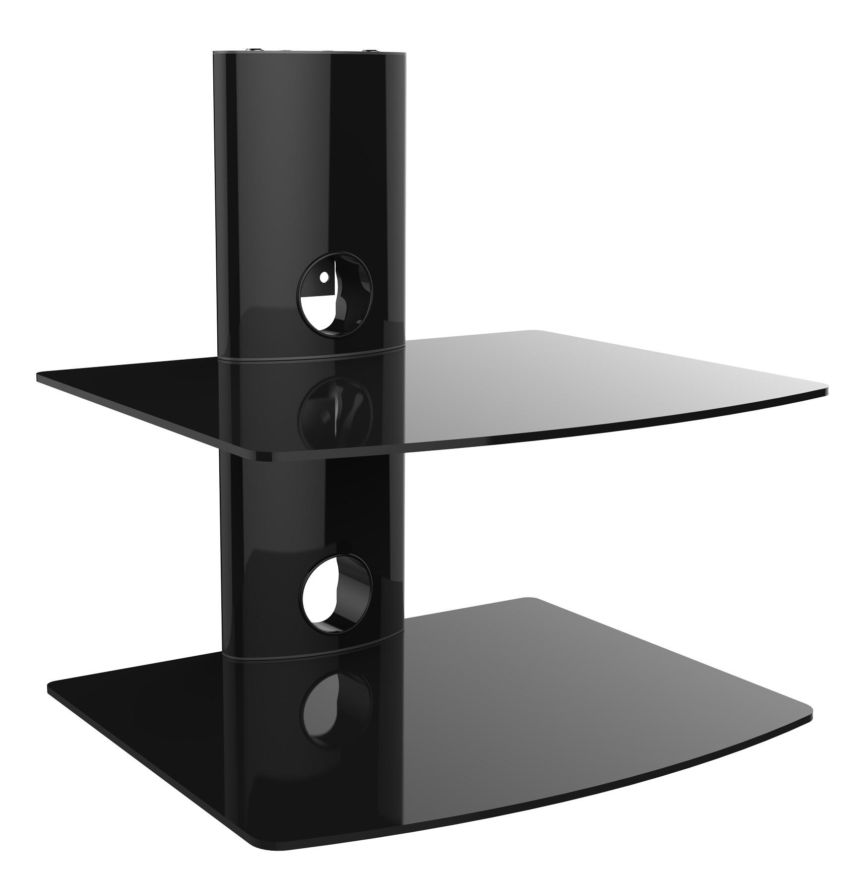 hifi media dvd wandregal wandhalterung konsole regal. Black Bedroom Furniture Sets. Home Design Ideas