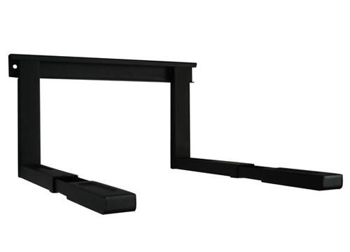 mikrowellenhalter mikrowelle wandhalterung halterung ablage regal zb f r samsung ebay. Black Bedroom Furniture Sets. Home Design Ideas